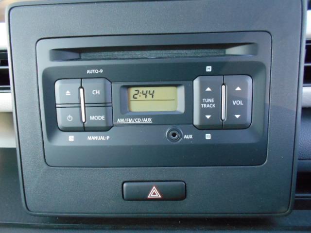 純正ラジオ/CDプレーヤー付きです!