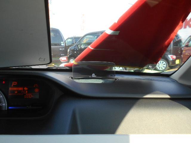 運転席の前にヘッドアップディスプレイが出現!