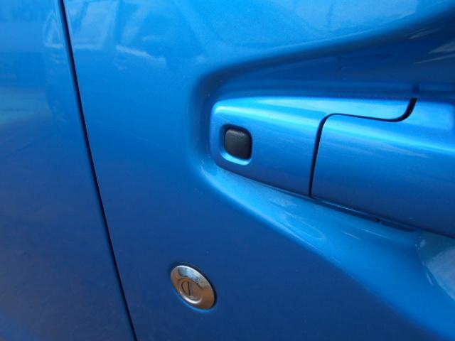 鍵を持っているだけで、ボタンを押せばドアの施錠・開錠が出来ます。