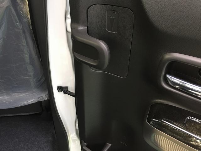 後部座席のドアには、傘を立てて収納できます♪