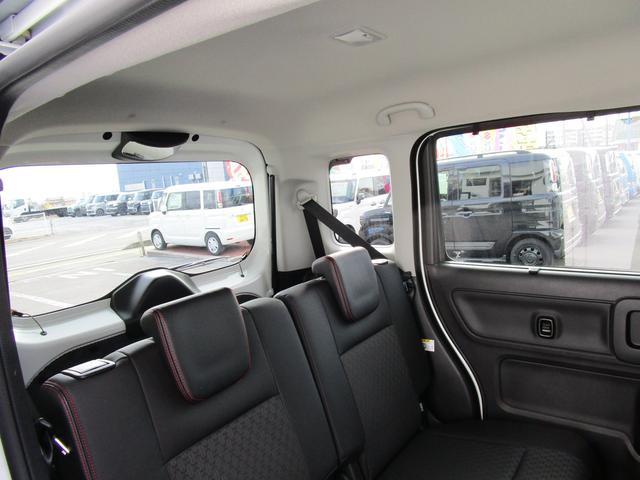 カスタム HYBRID XSターボ 4WD 2トーンルーフ(12枚目)