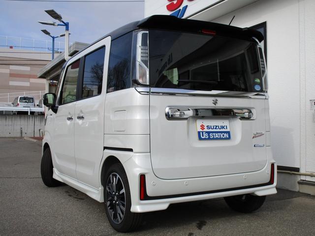 カスタム HYBRID XSターボ 4WD 2トーンルーフ(64枚目)