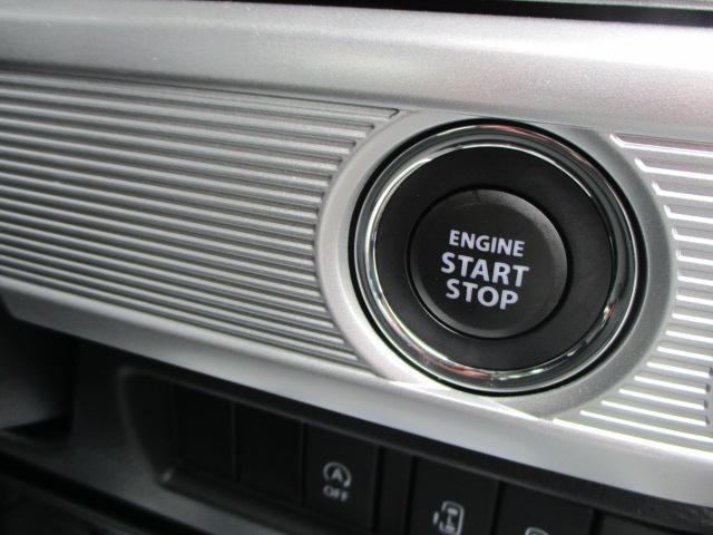 エンジンスタートはキーレスプッシュスタート式、リモコンキーが2つ付属いたします。