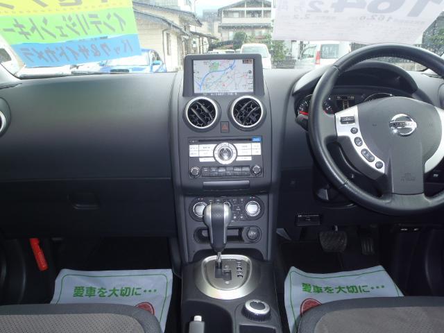 日産 デュアリス クロスライダー 4WD ナビ バック・サイドモニター HID