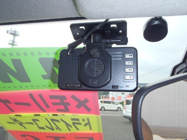 コムテックドライブレコーダー(safe  ProII)付いてますので、もしもの時でも安心です。