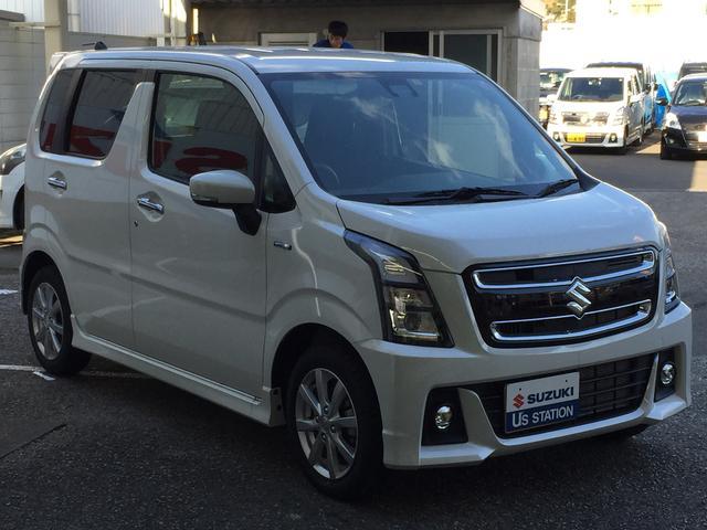 「スズキ」「ワゴンRスティングレー」「コンパクトカー」「高知県」の中古車6