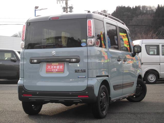 「スズキ」「スペーシアギア」「コンパクトカー」「長野県」の中古車7