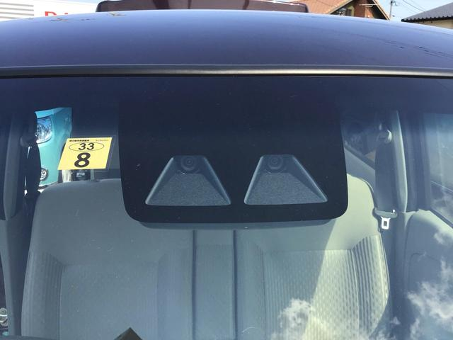 スマートアシストIII対歩行者、対車に対してが作動します。