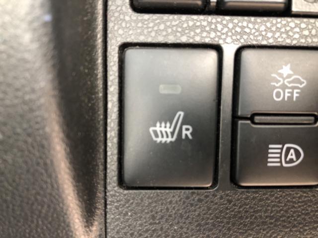 運転席シートヒーター。シートの座面を温めるシートヒーター。寒い日や、寒冷地でのドライブを快適にします。