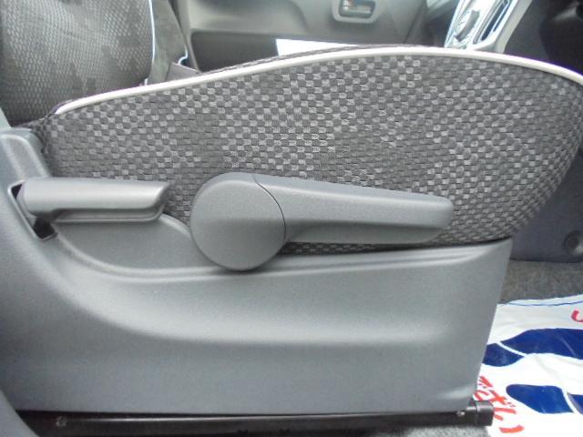 運転席シートリフタ― 座席を運転しやすい高さにお好みで調節出来ます♪