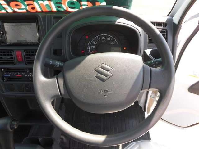運転席エアバック付きです。