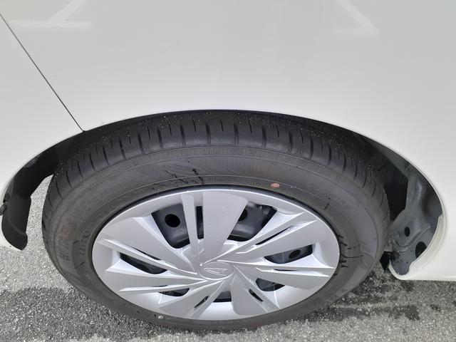 タイヤの山は十分あります。