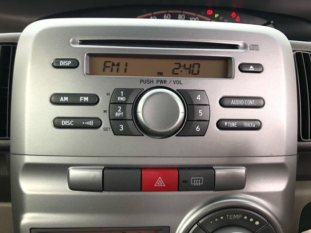 CDラジオが付いて、快適なドライブになりますね^^