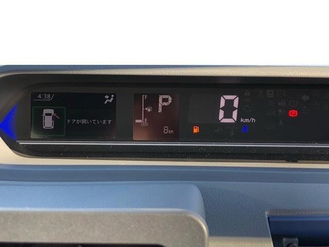 カスタムX 届出済未使用車・両側電動スライドドア・プッシュボタンスタート・ステアリングスイッチ・コーナーセンサー・アルミホイール・バックカメラ・キーフリーシステム・オートエアコン・パワーウィンドウ(5枚目)