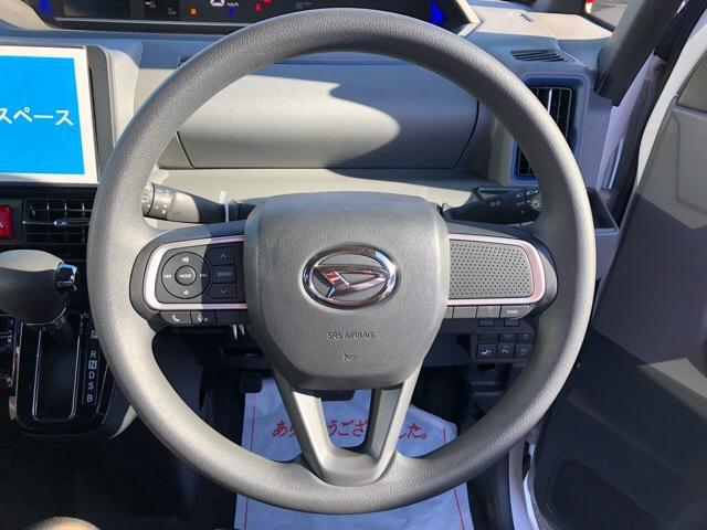 カスタムX 届出済未使用車・両側電動スライドドア・プッシュボタンスタート・ステアリングスイッチ・コーナーセンサー・アルミホイール・バックカメラ・キーフリーシステム・オートエアコン・パワーウィンドウ(7枚目)
