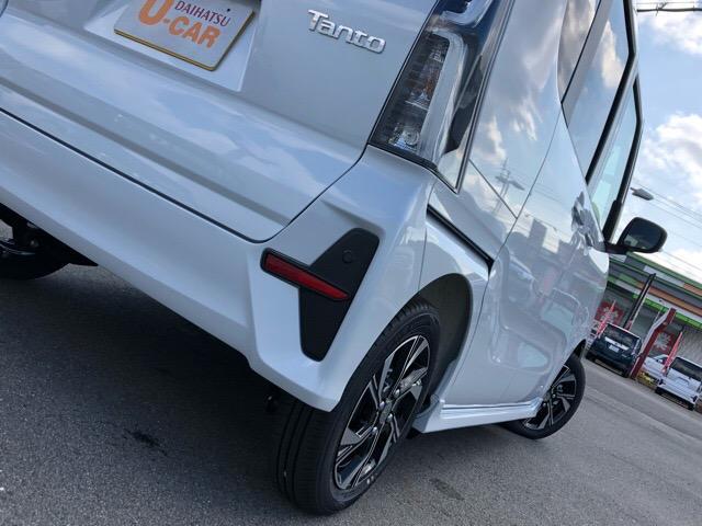カスタムX 届出済未使用車・両側電動スライドドア・プッシュボタンスタート・ステアリングスイッチ・コーナーセンサー・アルミホイール・バックカメラ・キーフリーシステム・オートエアコン・パワーウィンドウ(31枚目)