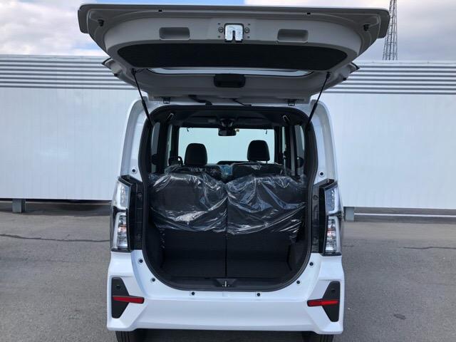 カスタムX 届出済未使用車・両側電動スライドドア・プッシュボタンスタート・ステアリングスイッチ・コーナーセンサー・アルミホイール・バックカメラ・キーフリーシステム・オートエアコン・パワーウィンドウ(33枚目)