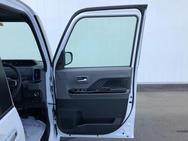 カスタムX 届出済未使用車・両側電動スライドドア・プッシュボタンスタート・ステアリングスイッチ・コーナーセンサー・アルミホイール・バックカメラ・キーフリーシステム・オートエアコン・パワーウィンドウ(40枚目)