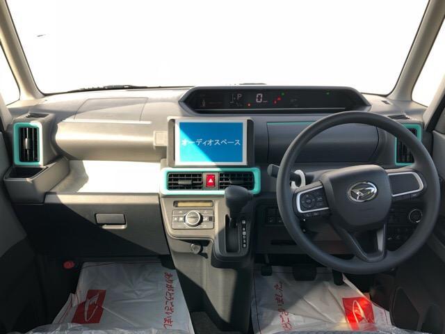 Xセレクション 届出済未使用車・片側電動スライドドア・プッシュボタンスタート・オートエアコン・ステアリングスイッチ・バックカメラ・コーナーセンサー・キーフリーシステム・パワーウィンドウ(3枚目)