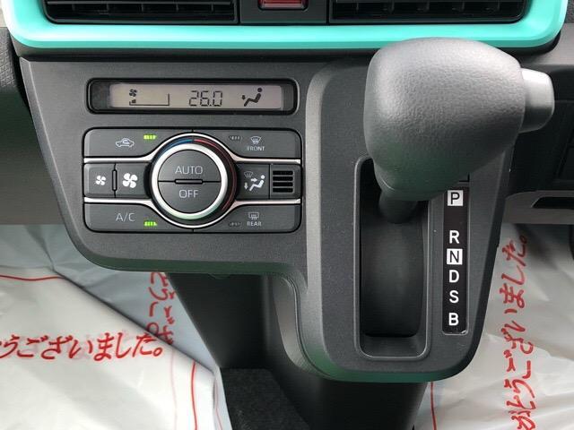 Xセレクション 届出済未使用車・片側電動スライドドア・プッシュボタンスタート・オートエアコン・ステアリングスイッチ・バックカメラ・コーナーセンサー・キーフリーシステム・パワーウィンドウ(11枚目)