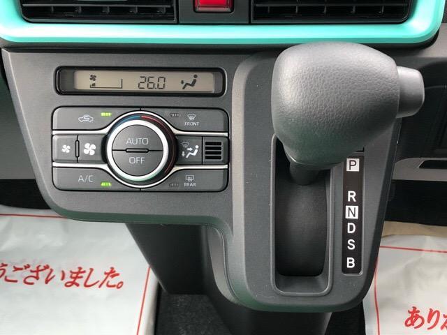 Xセレクション 届出済未使用車・片側電動スライドドア・プッシュボタンスタート・コーナーセンサー・ステアリングスイッチ・バックカメラ・シートヒーター・オートエアコン・キーフリーシステム・パワーウィンドウ(12枚目)