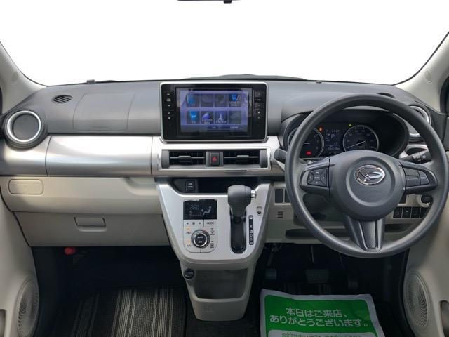 スタイルX SAII スマートアシストII・ダイハツ純正ナビ・DVD再生・Bluetooth接続・バックモニター・プッシュボタンスタート・オートエアコン・ステアリングスイッチ・キーフリーシステム・パワーウィンドウ(3枚目)