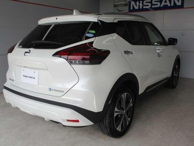 日産のe-POWERシリーズの3車種目のキックスです。