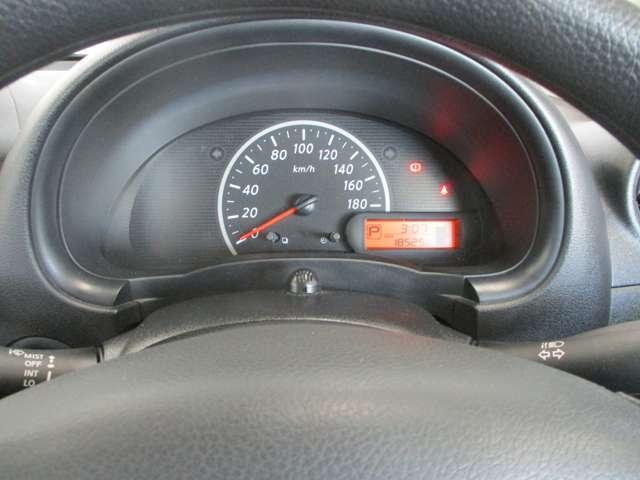 シンプルなスピードメーターで見やすいです!