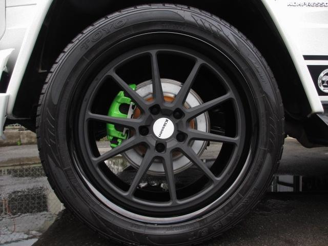 G55L AMG デジーノ 鍛造22インチ 62カスタマイズ(19枚目)