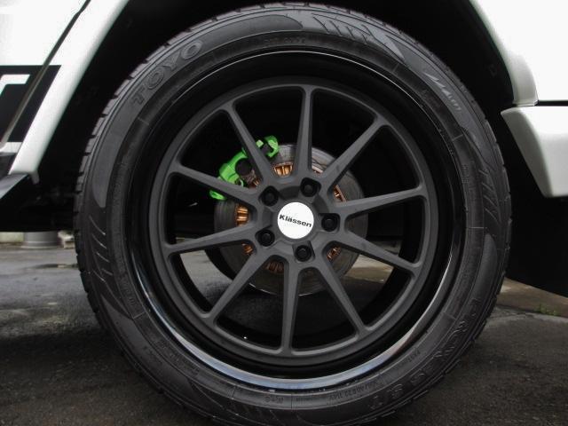 G55L AMG デジーノ 鍛造22インチ 62カスタマイズ(20枚目)