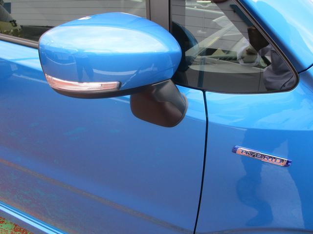 ターンランプ付きドアミラーは対向車からの視認性アップに効果があります。