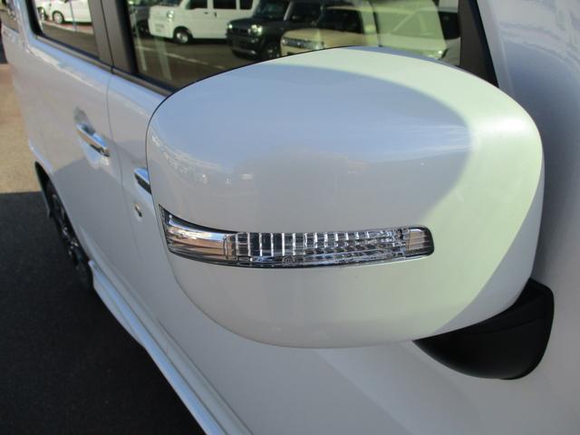 ターンランプ付きドアミラーは、視認性アップに効果があります。