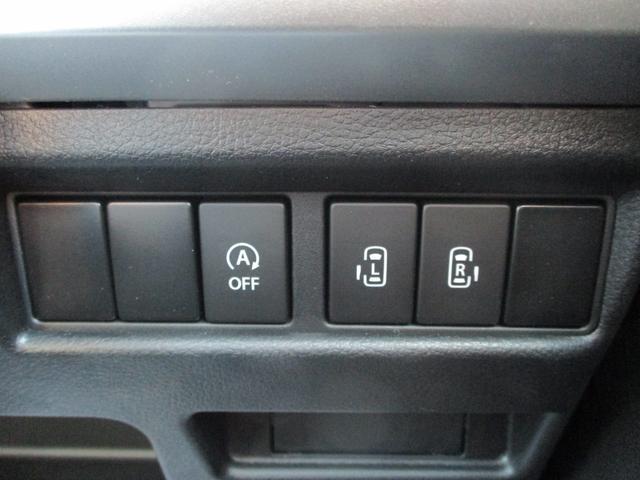 後部のスライドドアは、運転席に座りながらでも開閉が可能です。