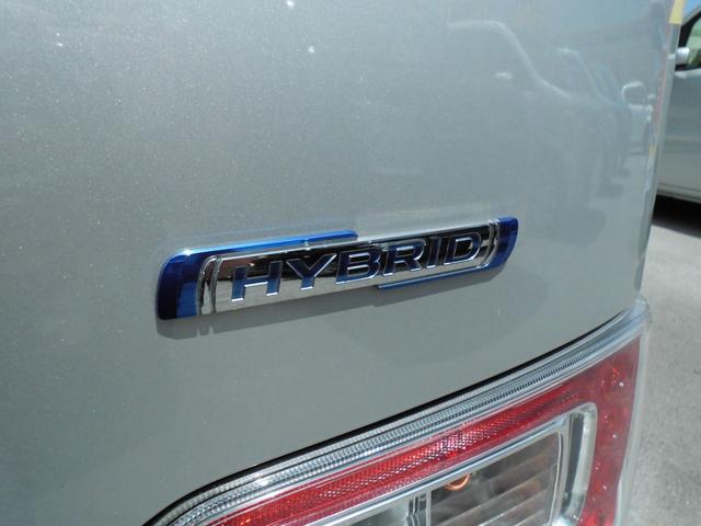 電気の力で低燃費をアシストするマイルドハイブリッド搭載。電力も使うことによってより燃費効率の良い走りができます♪