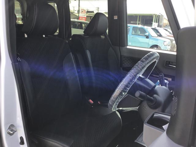 カスタムXセレクション 衝突回避支援システム LEDヘッドランプ 両側電動スライドドア アイドリングストップ オートエアコン キーフリー プッシュボタンエンジンスタート シートヒーター(7枚目)