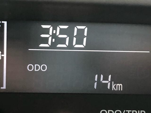走行距離も少なめで嬉しいですね☆新車をご検討の方にもオススメ出来る走行距離と状態です!ご来店の際に、ぜひお確かめください^^