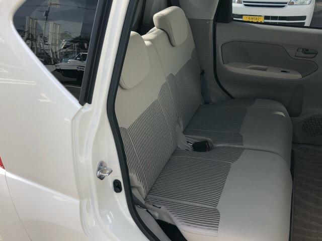 手触りの良いシート表皮が、ゆったりとくつろげる空間を演出してくれます♪