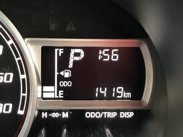 走行距離約1000キロと少なめです!新車をご検討の方にもオススメ出来る走行距離と状態です!ご来店の際に、ぜひお確かめください^^