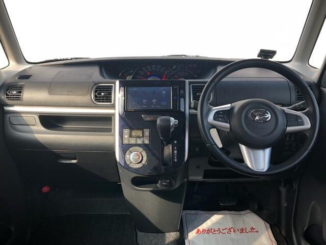 カスタムRS トップエディションSAIII 両側電動スライドドア・ドライブレコーダー・ダイハツ純正ナビ・バックモニター・ETC・プッシュボタンスタート・オートエアコン・ステアリングスイッチ・シートヒーター・オートハイビーム・キーフリーシステム(3枚目)