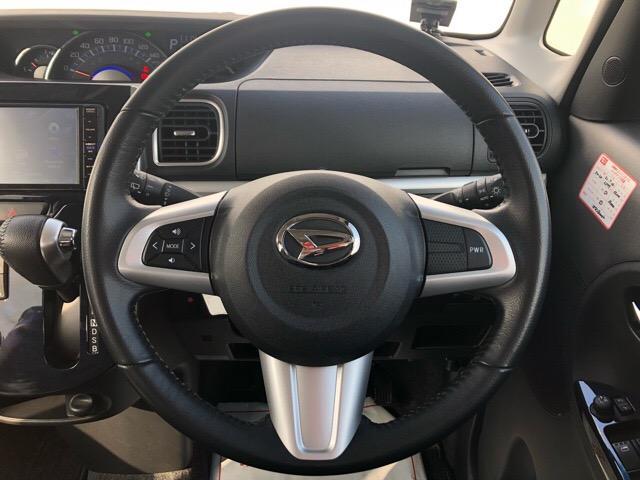 カスタムRS トップエディションSAIII 両側電動スライドドア・ドライブレコーダー・ダイハツ純正ナビ・バックモニター・ETC・プッシュボタンスタート・オートエアコン・ステアリングスイッチ・シートヒーター・オートハイビーム・キーフリーシステム(10枚目)