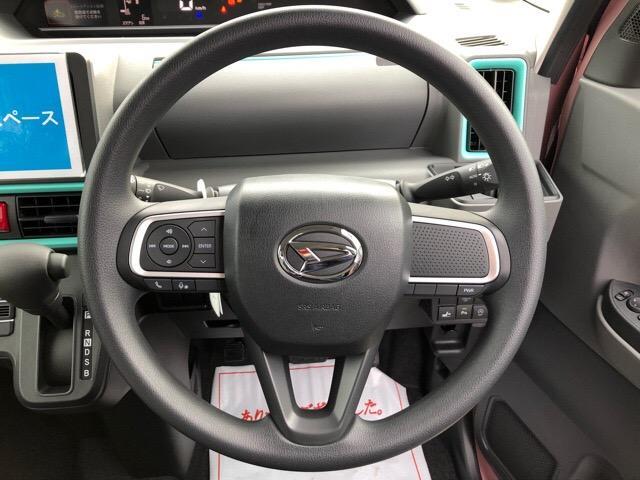 X 届出済未使用車・片側電動スライドドア・プッシュボタンスタート・オートエアコン・ステアリングスイッチ・バックカメラ対応・コーナーセンサー・キーフリーシステム・パワーウィンドウ(8枚目)