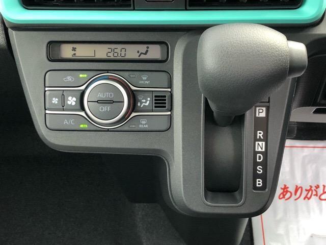 X 届出済未使用車・片側電動スライドドア・プッシュボタンスタート・オートエアコン・ステアリングスイッチ・バックカメラ対応・コーナーセンサー・キーフリーシステム・パワーウィンドウ(11枚目)