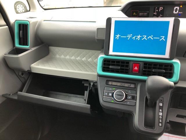 X 届出済未使用車・片側電動スライドドア・プッシュボタンスタート・オートエアコン・ステアリングスイッチ・バックカメラ対応・コーナーセンサー・キーフリーシステム・パワーウィンドウ(13枚目)