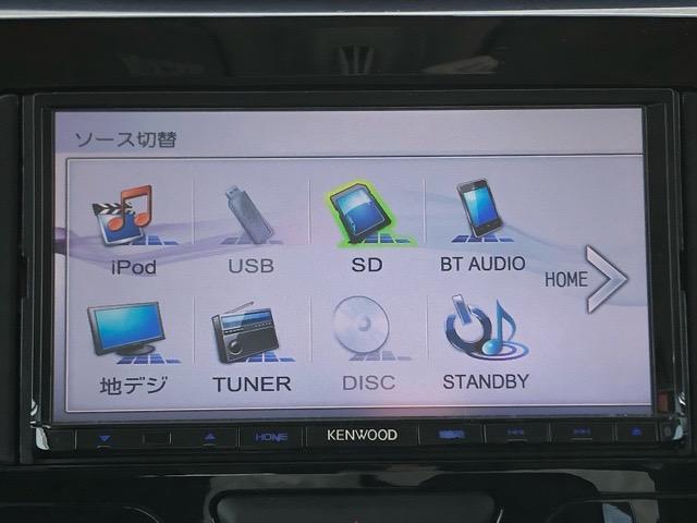 カスタムX SAII 片側電動スライドドア・KENWOODナビ・TV・DVD再生・Bluetooth接続・バックモニター・プッシュボタンスタート・オートエアコン・ステアリングスイッチ・アルミホイール・キーフリーシステム(5枚目)