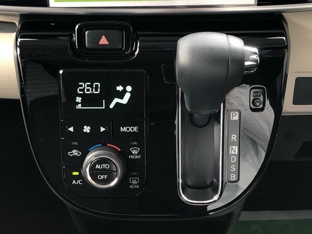 Xブラックアクセントリミテッド SAIII 両側電動スライドドア・パノラマカメラ対応・プッシュボタンスタート・ステアリングスイッチ・オートエアコン・オートハイビーム・キーフリーシステム・パワーウィンドウ(12枚目)
