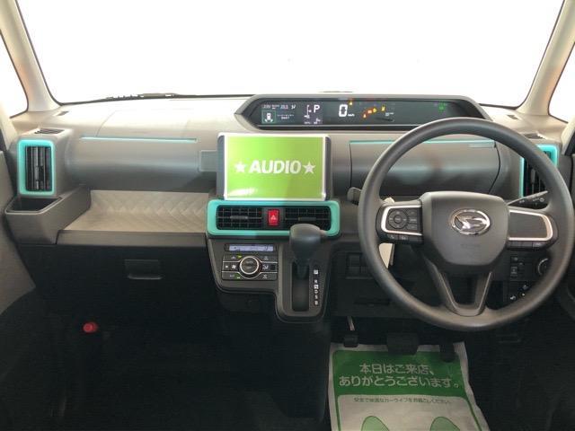X 片側電動スライドドア・届出済未使用車・コーナーセンサー・プッシュボタンスタート・ステアリングスイッチ・オートエアコン・キーフリーシステム・ベンチシート・パワーウィンドウ(4枚目)