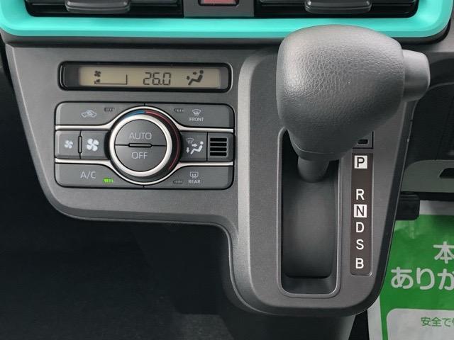 X 片側電動スライドドア・届出済未使用車・コーナーセンサー・プッシュボタンスタート・ステアリングスイッチ・オートエアコン・キーフリーシステム・ベンチシート・パワーウィンドウ(12枚目)