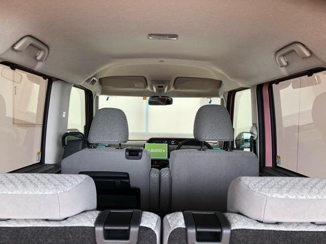 X 片側電動スライドドア・届出済未使用車・コーナーセンサー・プッシュボタンスタート・ステアリングスイッチ・オートエアコン・キーフリーシステム・ベンチシート・パワーウィンドウ(28枚目)