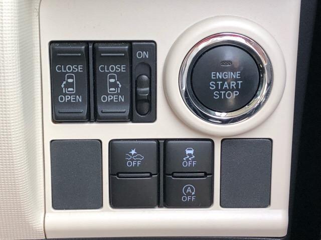 【両側電動スライドドア】運転席に設置されたボタンひとつで簡単な電動スライドドア☆ドアを自動で開閉できるため、車内にいながら家族や友達を迎える事ができます^^