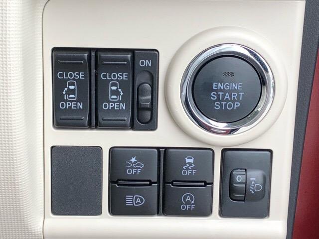 【プッシュボタンスタート】ワンタッチでエンジンの作動が出来るプッシュボタンスタートを採用しております☆